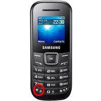 SamsungE1200M キーパッドロックの解除